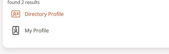 directory profile link in MyOregonState